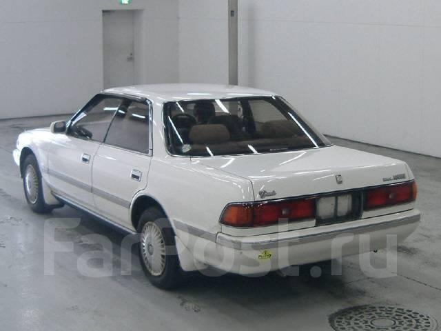 Toyota Mark II. GX81, 1GFE