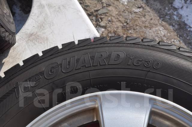 Yokohama Ice Guard IG30. Всесезонные, 2013 год, износ: 5%, 4 шт