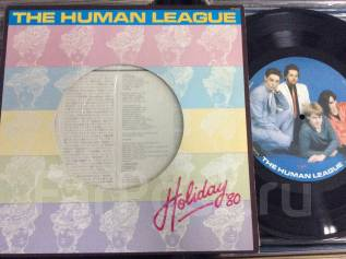 NEW WAVE! Хьюман Лиг / Human League - Holiday'80 - JP 12""