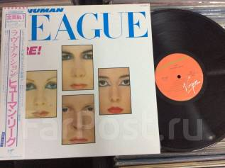 СИНТ ПОП! Хьюман Лиг / Human League - DARE! - JP LP 1981