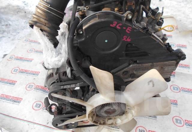 Двигатель в сборе. Toyota Town Ace, CR52V Двигатель 3CE