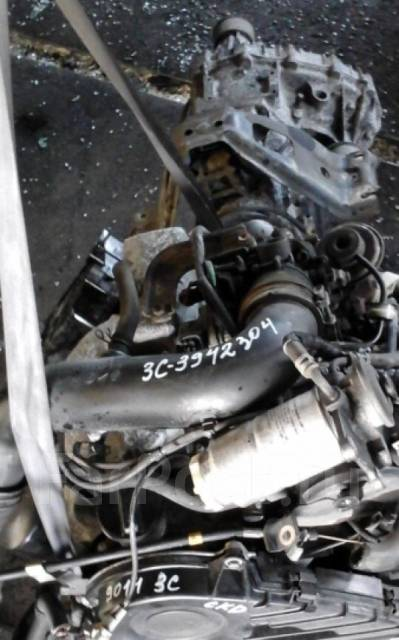 Двигатель в сборе. Toyota Town Ace, CR52V Двигатели: 3CT, 3CE