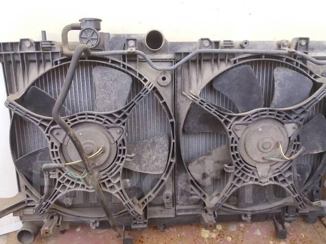 Радиатор охлаждения двигателя. Subaru