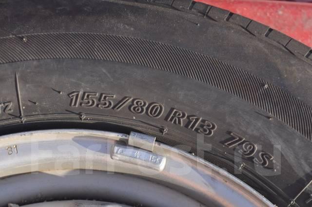 Bridgestone Nextry Ecopia. Летние, 2013 год, износ: 100%, 4 шт