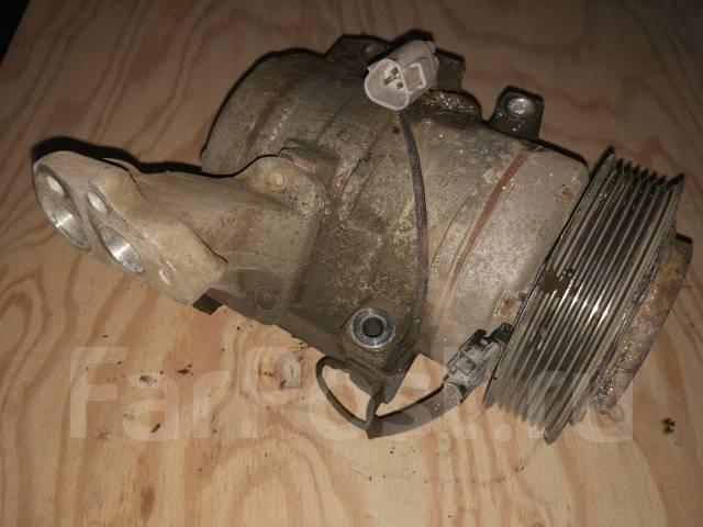 Компрессор кондиционера. Toyota Ipsum, ACM21, ACM26W, ACM26, ACM21W Двигатель 2AZFE