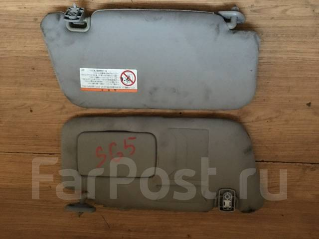 Кронштейн козырька солнцезащитного. Subaru Forester, SG5, SG9