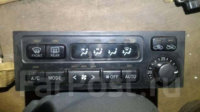 Блок управления климат-контролем. Toyota Land Cruiser Prado