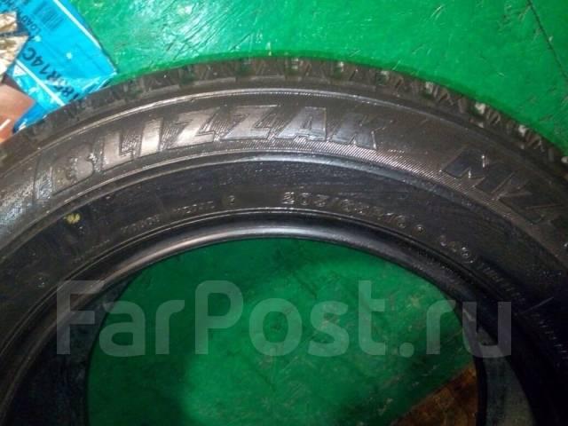 Bridgestone Blizzak MZ-03. Зимние, без шипов, износ: 40%, 1 шт