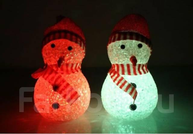 Мини-светильник Снеговик