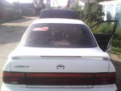 Педаль тормоза. Toyota Corolla