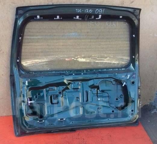 Крышка багажника. Toyota Land Cruiser Prado, TRJ125, RZJ120, LJ120, LJ125, KDJ125, TRJ120, GRJ120, KZJ120, GRJ125, KDJ120, RZJ125 Двигатели: 1GRFE, 3R...