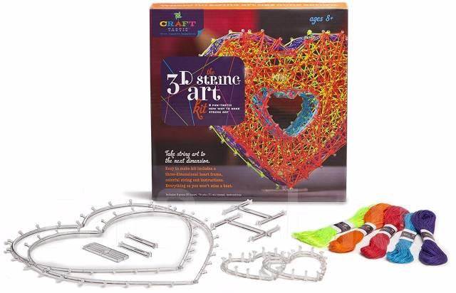 Набор для рукоделия – Объемное сердце 3D. отличный подарок! Новинка!