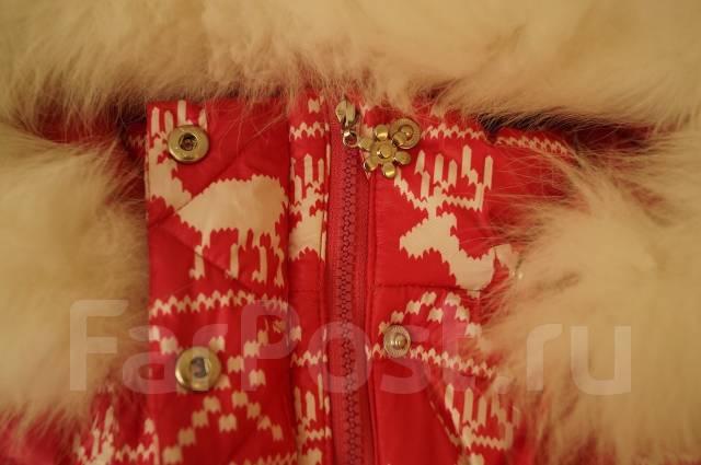 Пальто-пуховики. Рост: 104-110, 110-116 см