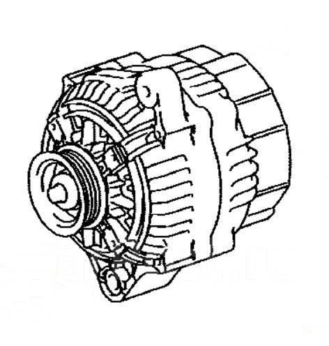Генератор. Toyota Altezza, SXE10 Двигатель 3SGE