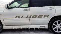 Наклейка. Toyota Kluger