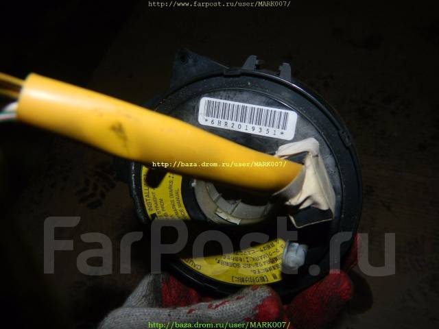SRS кольцо. Subaru Forester, SF5, SF9