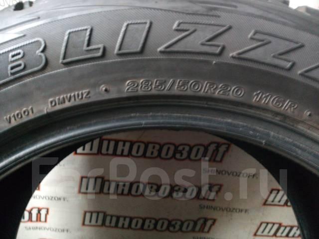 Bridgestone Blizzak DM-V1. Зимние, без шипов, 2012 год, износ: 30%, 4 шт