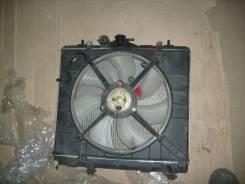 Радиатор охлаждения двигателя. Mitsubishi Pajero Mini, H58A, H53A