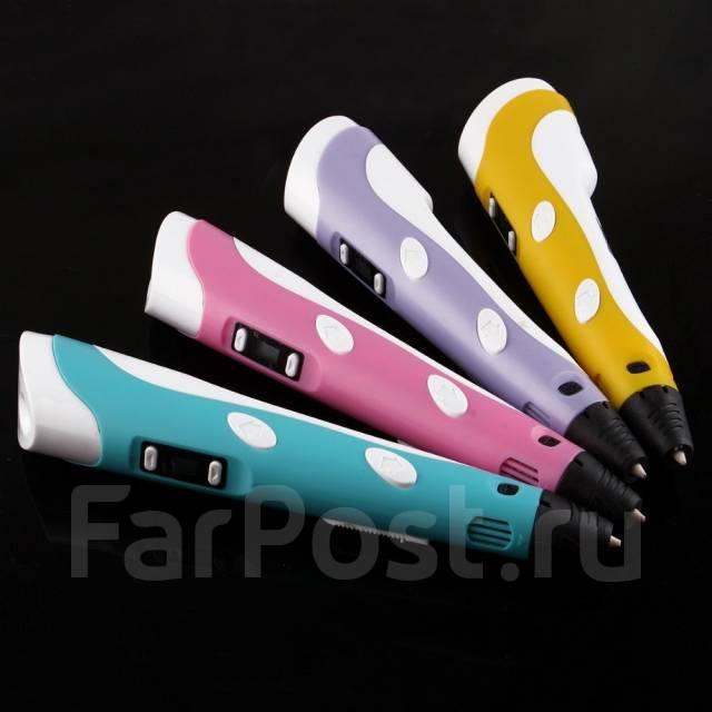 3D ручка с дисплеем RP-100B, все цвета в наличии (3д ручка)