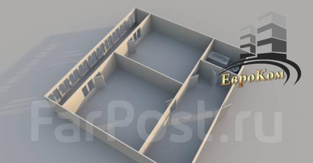 1-комнатная, улица Черняховского 9. 64, 71 микрорайоны, агентство, 50 кв.м. План квартиры