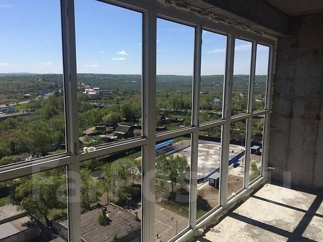 1-комнатная, улица Белинского 21. Сахпосёлок, частное лицо, 38 кв.м. Вид из окна днём