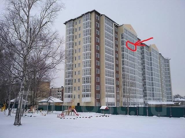 1-комнатная, улица Белинского 21. Сахпосёлок, частное лицо, 38 кв.м. Дом снаружи