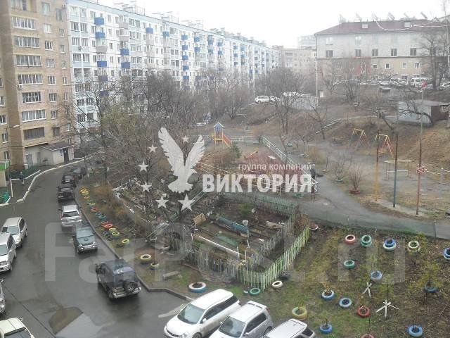 1-комнатная, улица Некрасовская 76. Некрасовская, агентство, 37 кв.м. Вид из окна днем