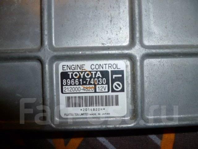 Блок управления двс. Toyota iQ, KGJ10 Двигатель 1KRFE