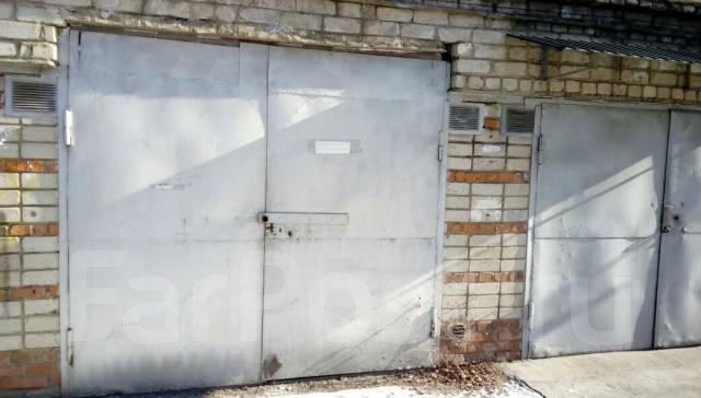 Боксы гаражные. улица Промышленная 12, р-н Сахпосёлка, 18 кв.м., электричество, подвал.