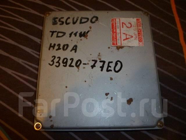 Блок управления двс. Suzuki Escudo, TD11W Двигатель H20A