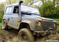 Шноркель. Land Rover Defender
