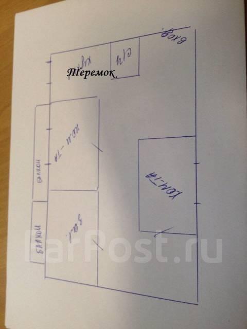 3-комнатная, проспект Красного Знамени 131. Третья рабочая, агентство, 68 кв.м. План квартиры