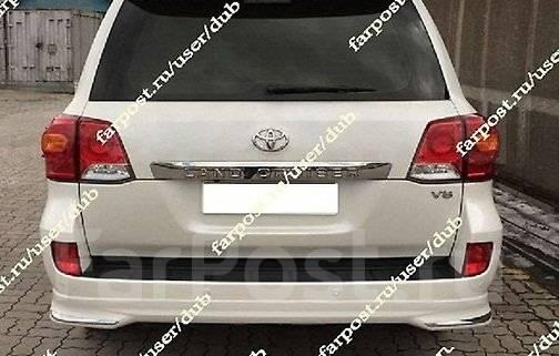 Обвес кузова аэродинамический. Toyota Land Cruiser Двигатель 12HT