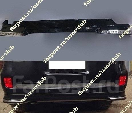 Обвес кузова аэродинамический. Toyota Land Cruiser, J200, URJ202, URJ202W, VDJ200 Двигатели: 1URFE, 1VDFTV, 3URFE