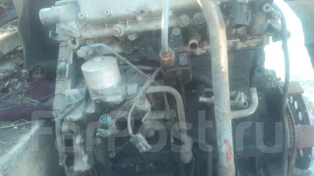 Двигатель. Isuzu Bighorn Двигатель 4JX1
