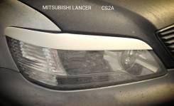 Накладка на фару. Mitsubishi Lancer Cedia, CS6A, CT9A, CS2W, CS2V, CS5W, CS2A, CT9W, CS5A. Под заказ