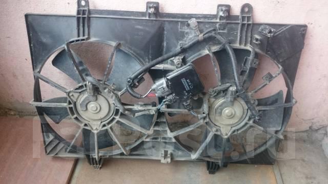 Вентилятор охлаждения радиатора. Infiniti M35 Nissan Fuga, PNY50 Двигатели: VQ35DE, VQ25DE