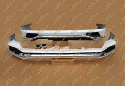 Обвес кузова аэродинамический. Lexus LX450d
