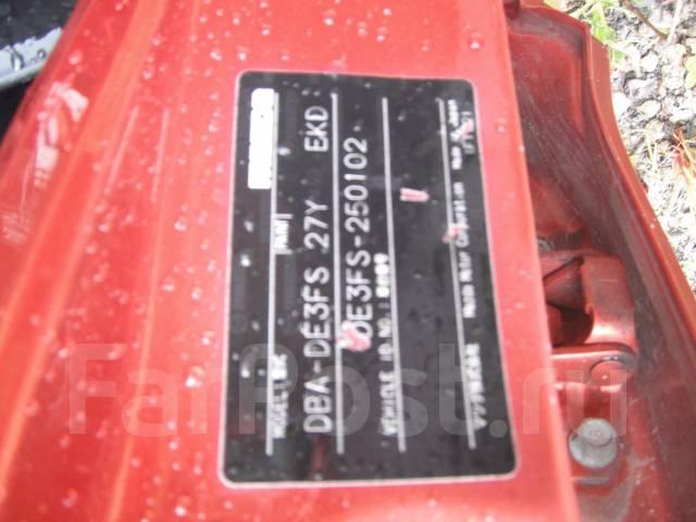 Зеркало заднего вида боковое. Mazda Demio, DE3FS Двигатель ZJVE