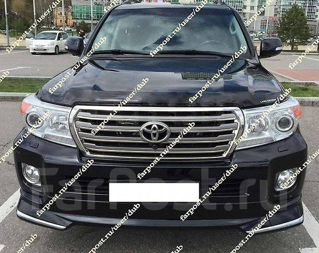 Губа. Toyota Land Cruiser