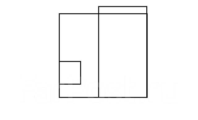 1-комнатная, улица Героев-Тихоокеанцев 20. Чуркин, агентство, 34 кв.м. План квартиры