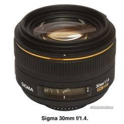 Sigma 30mm f/1.4. Для Nikon