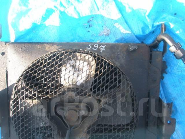 Радиатор кондиционера. Mitsubishi Canter