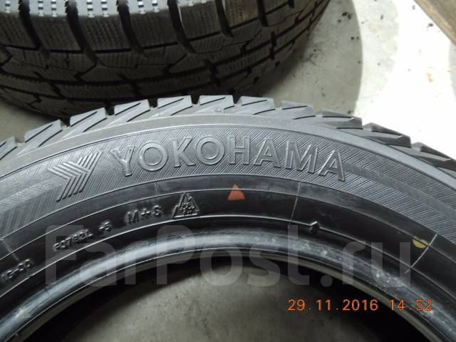 Yokohama Ice Guard IG30. Зимние, без шипов, 2008 год, износ: 10%, 2 шт