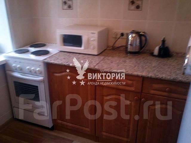 1-комнатная, улица Башидзе 16. Первая речка, агентство, 32 кв.м. Кухня