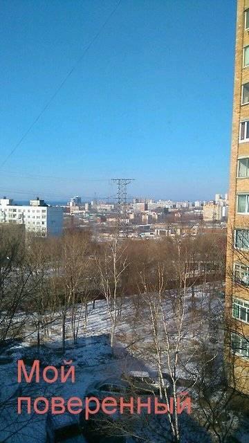 1-комнатная, улица Ульяновская 12/2. БАМ, агентство, 36 кв.м. Вид из окна днём