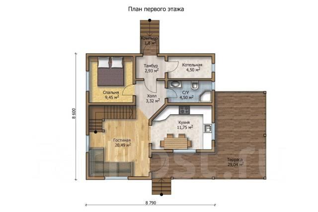 """Новый дом для постоянного проживания. С/т """"Клен"""", площадь дома 150 кв.м., скважина, электричество 15 кВт, отопление электрическое, от агентства недви..."""