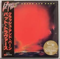 Pat Travers / Crash And Burn Japan Mini LP SHM-CD Out Of Print
