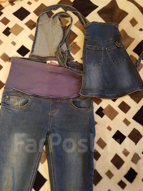 Комбинезоны джинсовые. 40-44