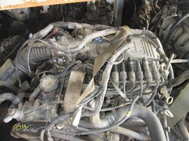 Двигатель в сборе. Mitsubishi Pajero Mitsubishi Delica, PD6W Двигатель 6G72